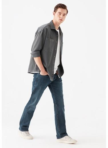 Mavi Erkek  Hunter Mavi Premium Jean Pantolon 20231266 Mavi